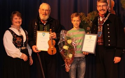 Trygve Bolstad fekk kulturprisen for 2011
