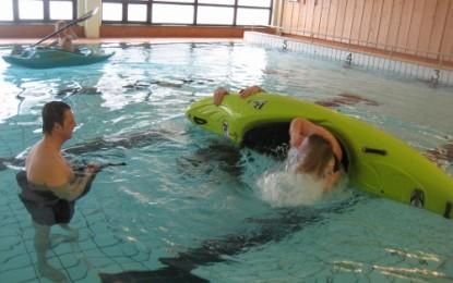 Padletrening i bassenget