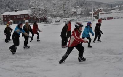 Skøyter på barneidrett i dag