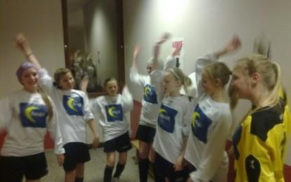 Småjenter i finalen i DNB-cup