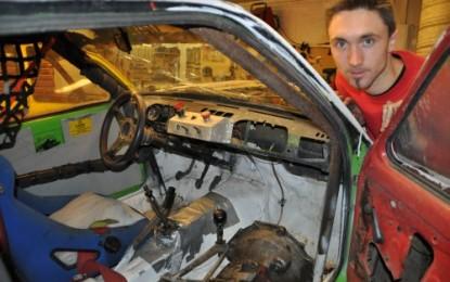 Marius Nerli til landsfinalen i bilcross