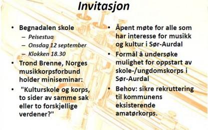 Invitasjon til miniseminar