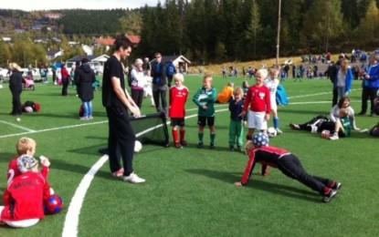Fotballturnering på Lillehammer 16. september