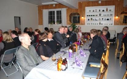 Fest for de frivillige på Fossvang