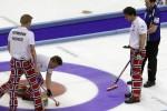 Curling var svaret på en oppgave i idrettskategorien