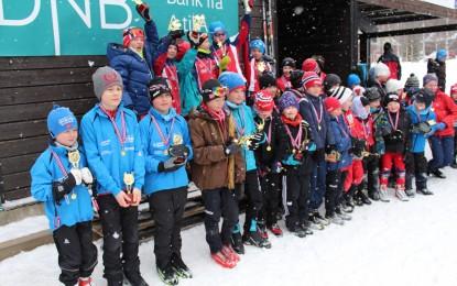 VM-stafett på Leirskogen