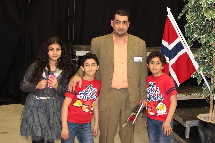 Ammar ny statsborger red