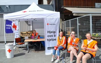Røde Kors-markering 8.mai