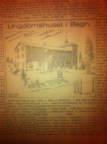 Fra Avisa Valdres 1947