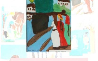 Munch-inspirert kunst på Bagn Bygdesamling