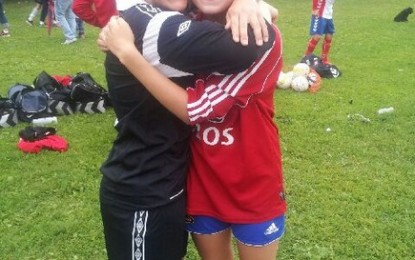 Med jenter-16 på Norway Cup