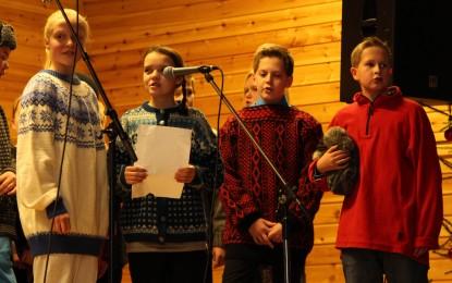 Juleavslutning på Bagn skole