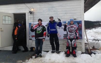 Resultater snøscootercross i Hattfjelldal