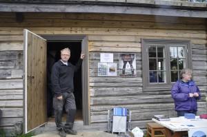 Bjarne Berg inviterer til Skrukkefyllhaugen