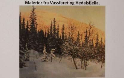 Maleriutstilling på Skrukkefyllhaugen i Vassfaret