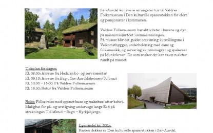 Tur til Valdres Folkemuseum på Fagernes
