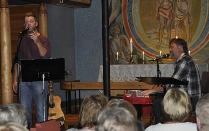 Kirkekonsert med Ørnulf og Gaute