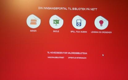 Ny felles hjemmeside for Valdresbiblioteka