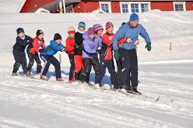 skisamling  med Knut