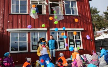 Barnehagedagen ble feiret i Reinli
