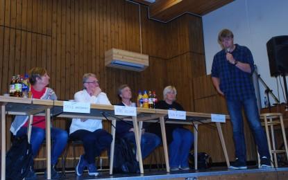 Rolig partilederdebatt i Begnadalen