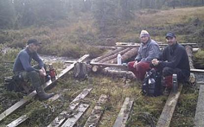 Dugnad og grillfest med Hellebuklia løypelag