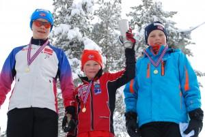 Lars Bertelrud, Mikkel L. Johansen og Vetle L. Johansen på Gutter max 15 år