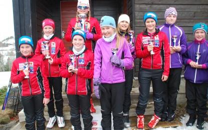 Skiavslutning på Leirskogen
