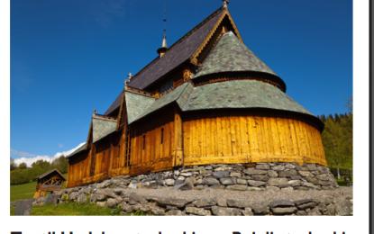 Kulturhistorisk tur til stavkirkene