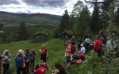 Tradisjonell tur med 6.klasse gjennom Vassfaret