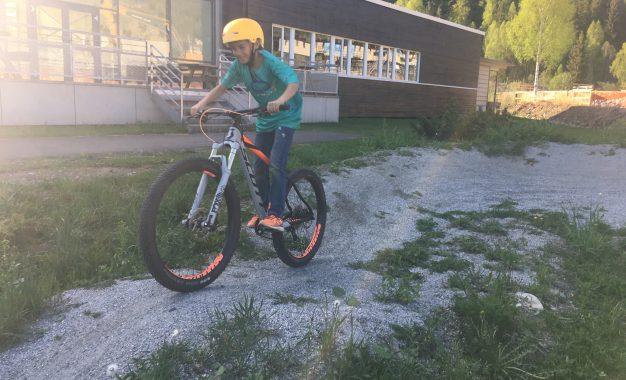 Alpint på Idrettsskolen tirsdag 9. januar