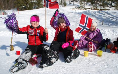 SPB1 VM-stafetten på Åsemyra 17.mars