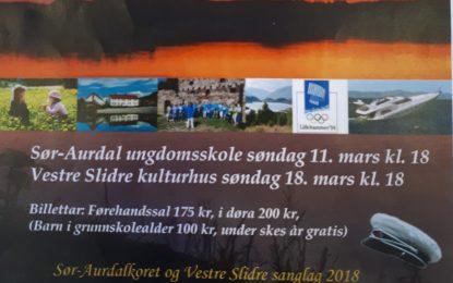 Sør-Aurdalkoret holder jubileumskonsert