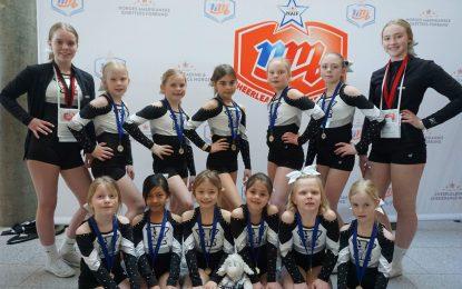 WildCats tok gull i NM i cheerleading