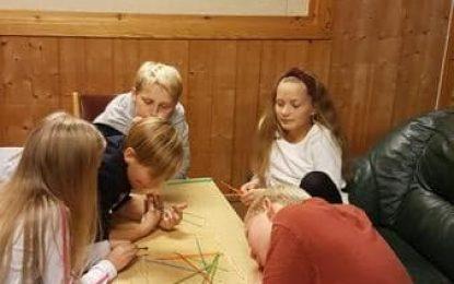 Ungdomsklubb på Leirskogen