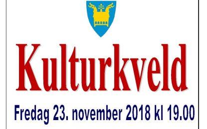 Kulturkvelden er 23.november