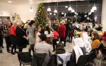 Juletrefest i Glasshuset