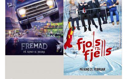 Kino på lørdag i Sør-Aurdalshallen