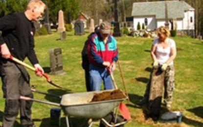 Kirkegårdsdugnad i ny form