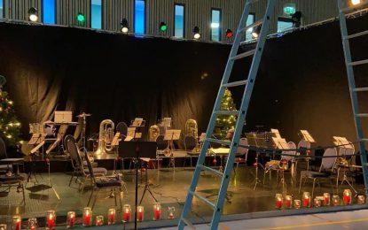Julekonsert med musikkorpset – Søndag kl 2030
