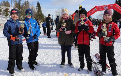 Skiavslutning med premieutdeling